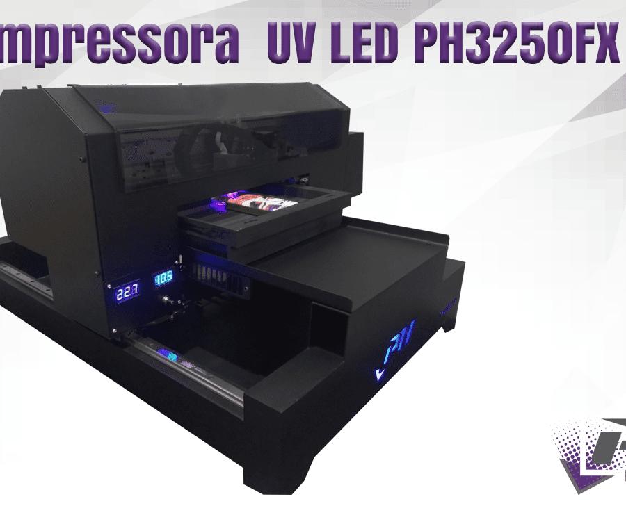 Impressora Profissional UV LED PH3250FX