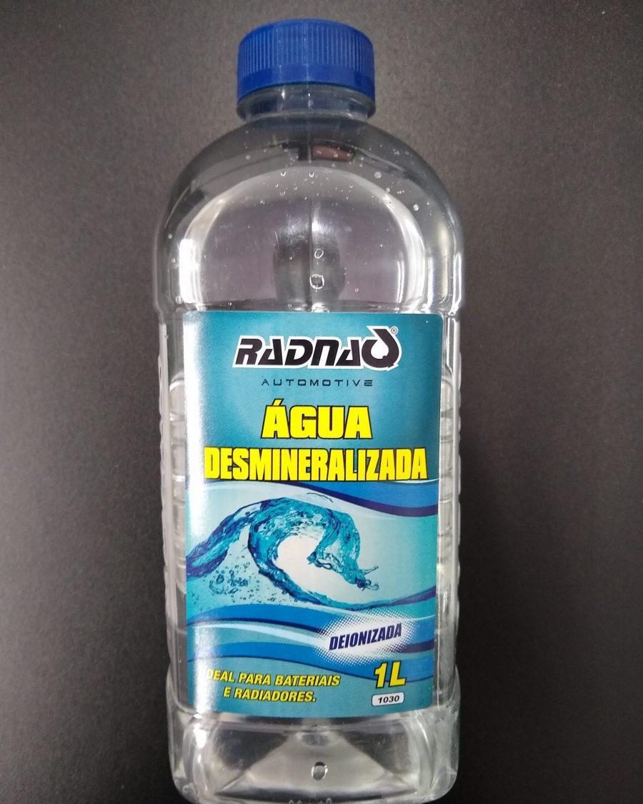 Água Desmineralizada para Refrigeração dos LEDS